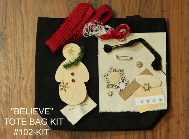 Believe Tote Bag Kit