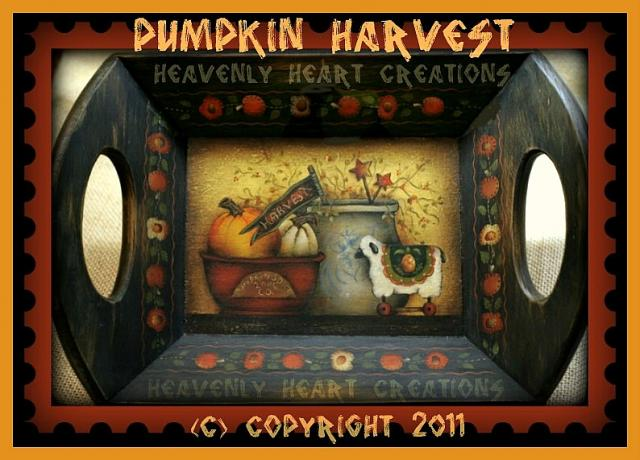 Pumpkin Harvest tray2