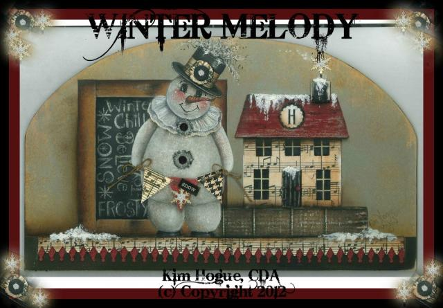 Winter Melody Panel